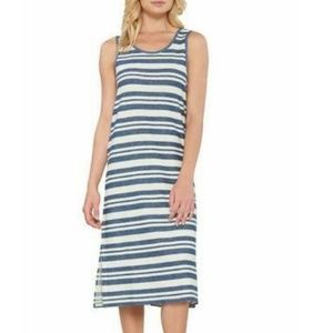 Matty M Ladies' Side-Slit Tank Dress